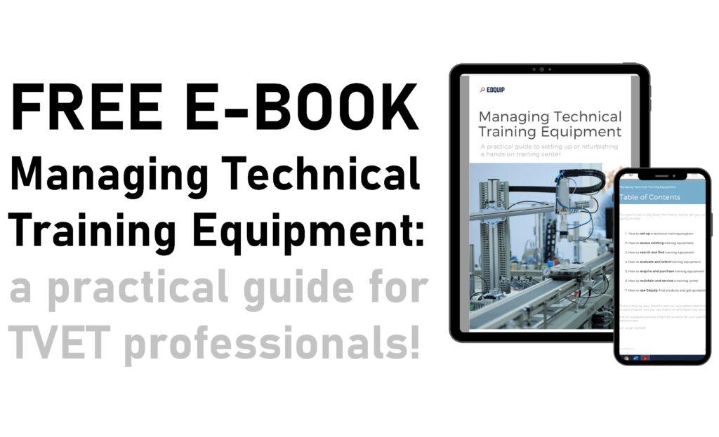 Edquip free ebook: managing technical training equipment